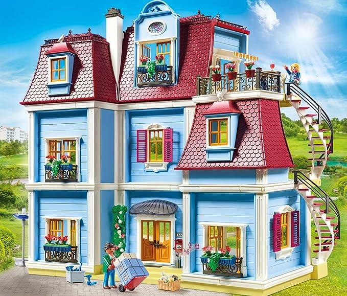 Playmobil - Casa de Muñecas Set Juguetes, Multicolor, 70205: Amazon.es: Juguetes y juegos