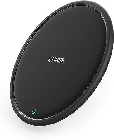 Anker PowerWave 7.5 Pad (改善版) ワイヤレス充電器 iPhone 11 / 11 Pro / 11 Pro Max / XS / XS Max / XR / X / 8 / 8 Plus Galaxy S10 / S10+ / S9 / S9+ その他Qi対応機種 各種対応 (急速充電器別売)