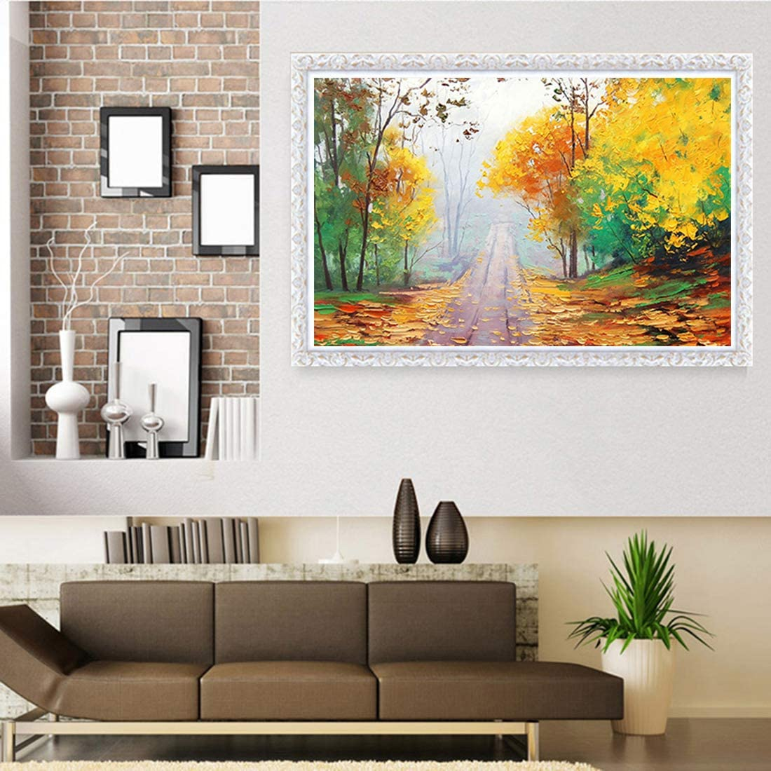 5D DIY Diamond Painting Kits for Adults with Round Full Drill Gem Art Crafts for Home Wall Decor 12x16inch//30x40cm