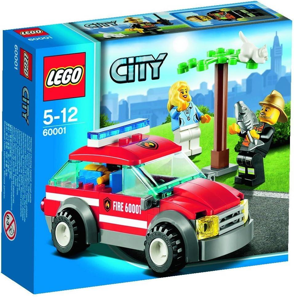 LEGO City - Coche del Jefe de Bomberos (60001): Amazon.es: Juguetes y juegos