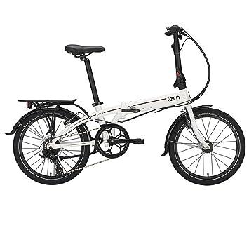"tern Link C8 - Bicicletas plegables - 20"" blanco/negro 2016"