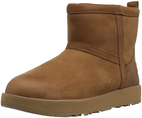 13d99ba8781 Amazon.com | UGG Women's Classic Mini L Waterproof | Shoes