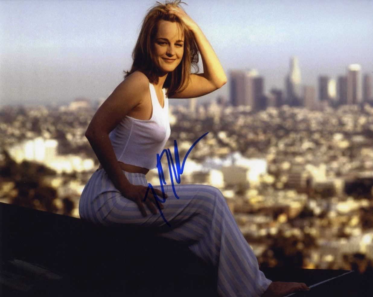 Helen Hunt Young Autographed Signed 8x10 Photo Authentic COA at ...