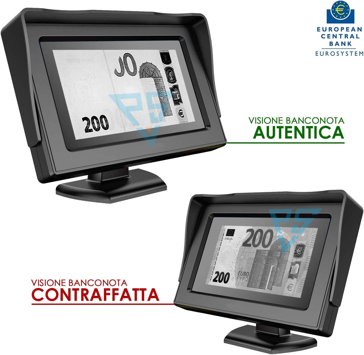 NO Necesita actualizaci/ón de Real Vision 4.3/ Detector de Billetes Falsos Money Vision