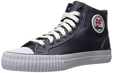 amazon com pf flyers men s center hi leather fashion sneaker