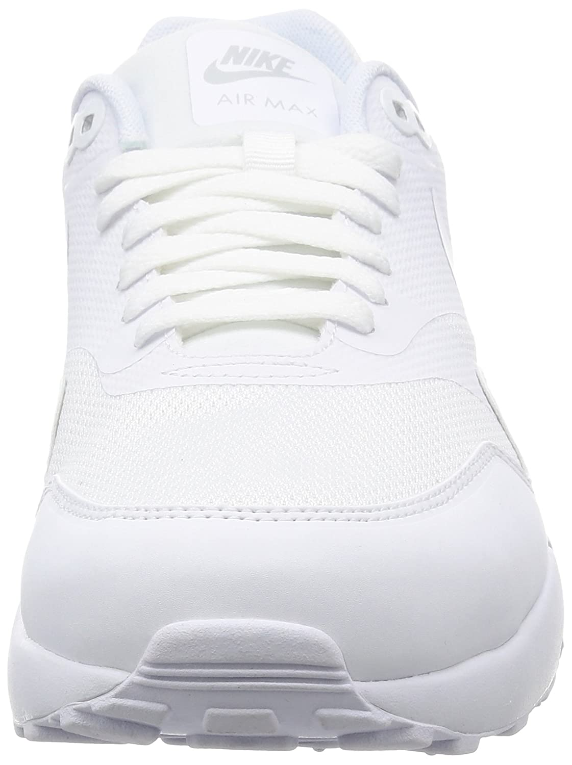 sports shoes 08d69 330d0 Nike Men s Air Max 1 Ultra 2.0 Essential Training Shoes, Bianco (White White  Pure Platinum), 9.5 UK  Amazon.co.uk  Shoes   Bags