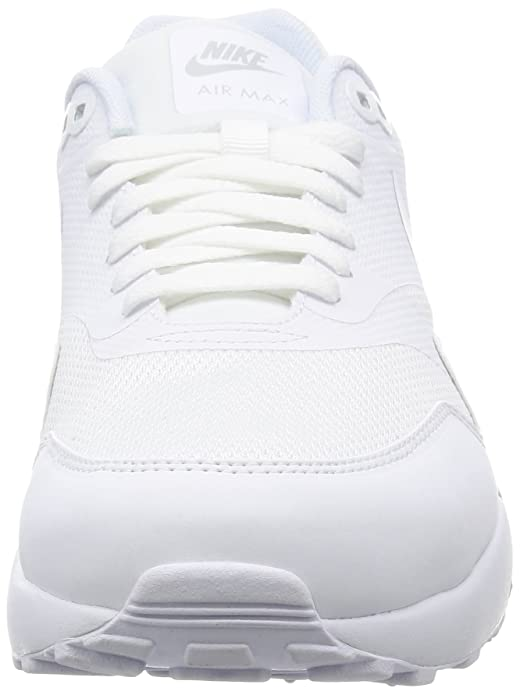sports shoes afcc8 99051 Nike Men s Air Max 1 Ultra 2.0 Essential Training Shoes, Bianco (White White  Pure Platinum), 9.5 UK  Amazon.co.uk  Shoes   Bags