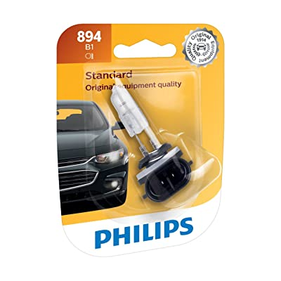 Philips 894B1 Standard Fog Bulb (Pack of 1): Automotive