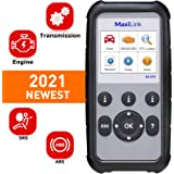 Autel ML629 OBD2 Scanner ABS SRS Engine Transmission Diagnoses OBD II Full Functions Upgraded Version of the ML619 for DIYers