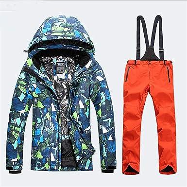 Amazon.com: Doctag praradise - Chaqueta de esquí para hombre ...