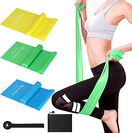 5 Résistance Exercice Bandes Boucles Fitness Home Workout Gym Yoga Pilates Crossfit