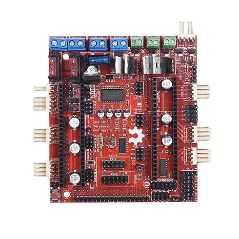 WOVELOT Placa Controladora, Impresora 3D Placa Base Reprap Rampas ...