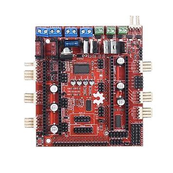 TOOGOO Placa Controladora, Impresora 3D Placa Base Reprap ...