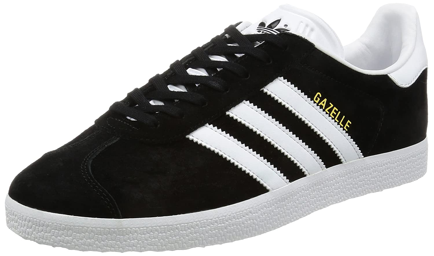 the best attitude 0acfa 182bc adidas Australia Mens Gazelle Trainers, Core BlackWhiteGold Metallic, 9  US Amazon.com.au Fashion