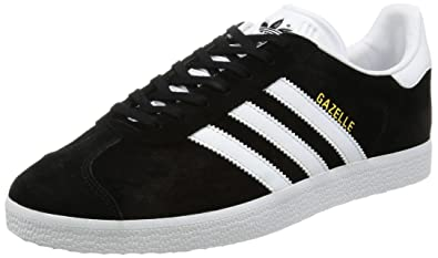 new style 2424b 13c28 adidas Gazelle, Sneakers Basses mixte adulte, Black (Core Black White Gold