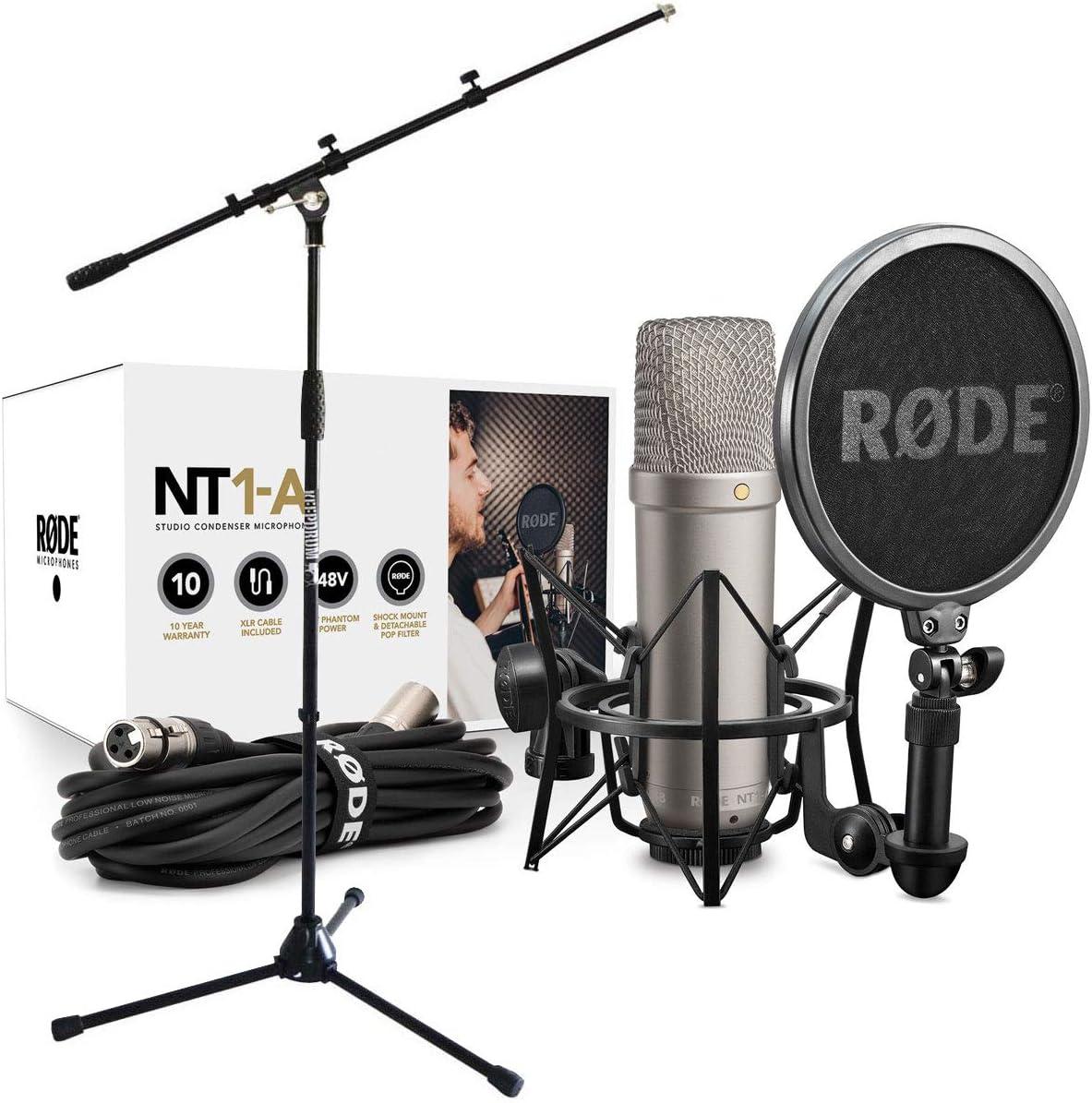 keepdrum Mikrofonst/änder Rode NT1-KIT Kondensator-Mikrofon Set