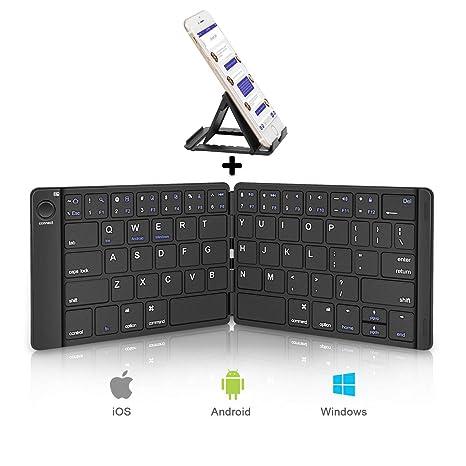 a8842bdab9d Amazon.com  Sounwill Foldable Keyboard