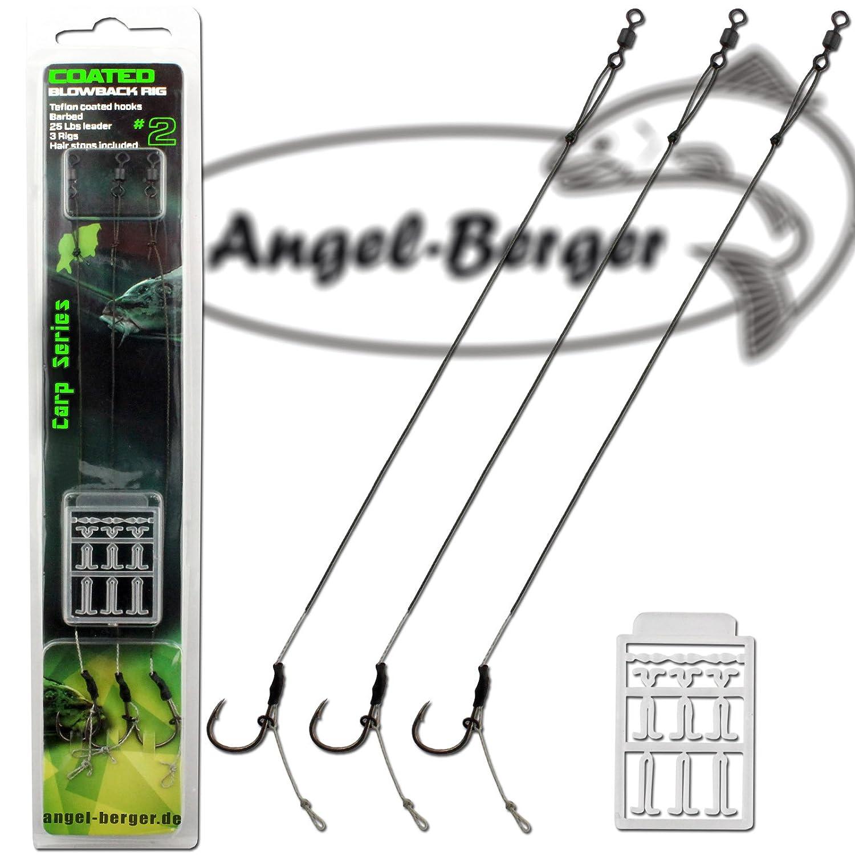 Angel Berger Coated Blowback Rig Boilierig Boilievorfach Angel-Berger