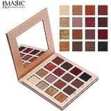 Xinantime 26 Colors Eye Shadow Makeup Palette + Lip Gloss Powder Set