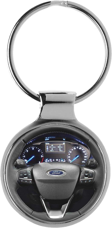 KIESENBERG Portachiavi Regalo per Ford Fiesta Fan Pozzetto A-20952