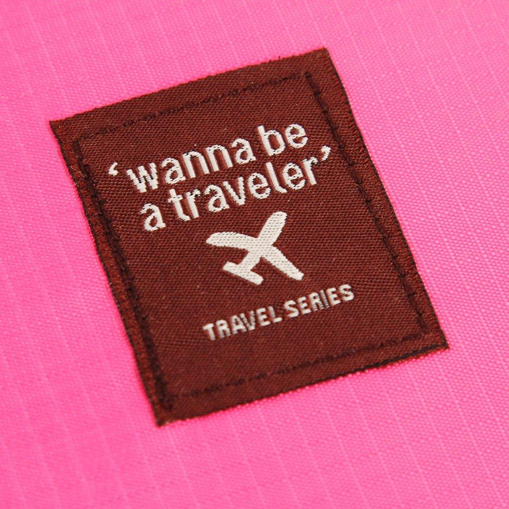 Cacys-Store - 1Pc Bra Underwear Lingerie Travel Bag for Women Organizer Trip Handbag Luggage Traveling Bag Pouch Case Suitcase Space Saver Bag
