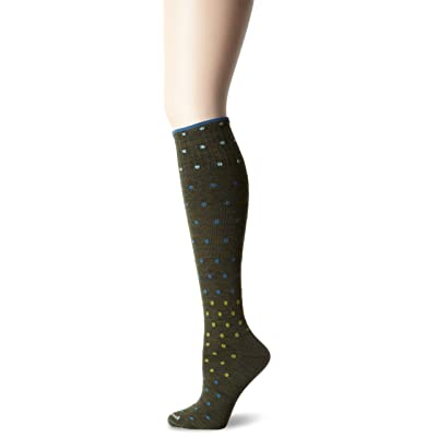 Sockwell Women's On The Spot Compression Socks, Loden, Medium/Large