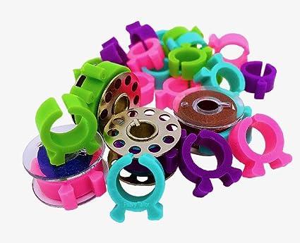 36 Bobbin Clamp-The Best Bobbin Buddies Keep Your Bobbin Thread Under Control-Thread Holder Bobbin Clip From PeavyTailor 4 Color