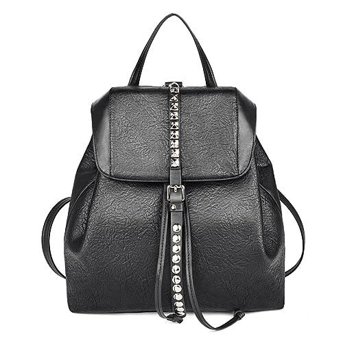 Coofit Mochila Mujer, Mochilas de Moda Multifuncional bolso mochila mujer Mochilas Escolares Negro: Amazon.es: Zapatos y complementos