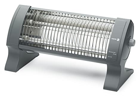 Fagor CZ120 - Radiador de cuarzo, 1200 W, 2 barras, 2 posiciones,