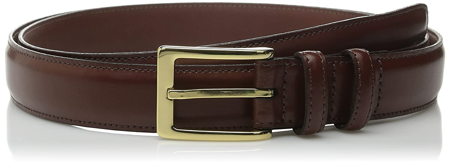 56 Mens Belts Torino Leather Co Big and Tall 30MM Antigua Leather Saddle Tan