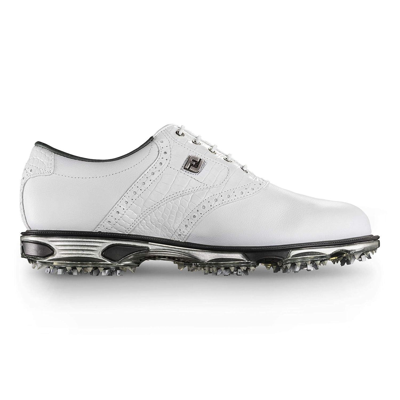 Footjoy メンズ Dryjoysツアーゴルフシューズ US サイズ: 9.5 D(M) US カラー: ホワイト   B013UI5EEK