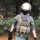 OneTigris Tactical Chest Rig with 5.56/7.62 Rifle