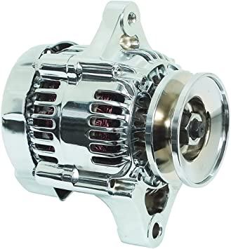 NEW ALTERNATOR MINI DENSO STYLE CHEVY STREET HOT ROD RACE CAR ONE 1 WIRE HOOKUP