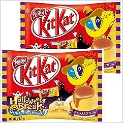 チョコレート菓子の新商品】キットカット ミニ キャラメルプリン味 13枚入り(個包装)×2個