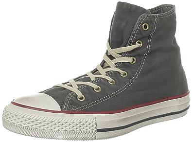 fc97faf120b0ae Converse Unisex Adults  Ctas Core Hi Gymnastics Shoes Grey Size  8.5 ...