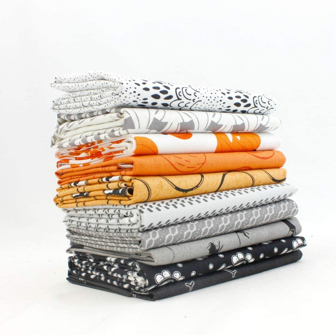 Halloween Fat Quarter Bundle (10 pcs) by Mixed Designers for Southern Fabric