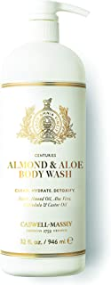 product image for Caswell-Massey Almond and Aloe Titanic Body Wash Bath Gel – Signature Fragrance – Made in the USA – 32 Ounces