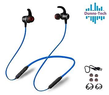 Auriculares Bluetooth Dunns D7, auriculares inalámbricos para el cuello, aptX estéreo, IPX5 impermeable