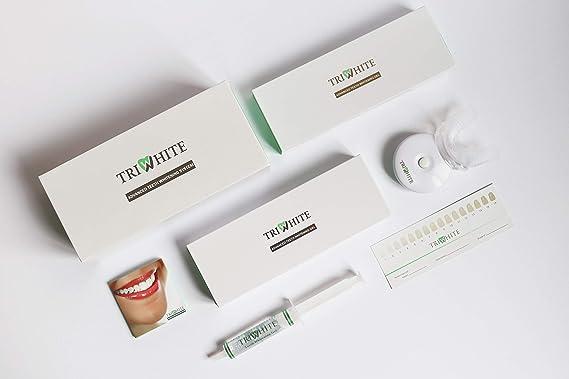 Triwhite Vegan Teeth Whitening with LED Light