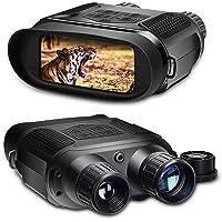 SOLOMARK Binoculares de visión nocturna , 7 prismáticos infrarrojos digitales - Cámara fotográfica HD de 1280x720p…