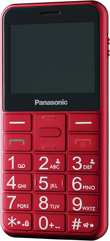 Panasonic KX-TU150EXR - Teléfono Móvil Dual SIM (Pantalla de 2.4