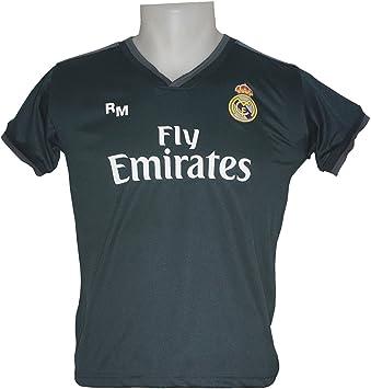 Real Madrid FC Camiseta Infantil Réplica Segunda Equipación 2018 ...