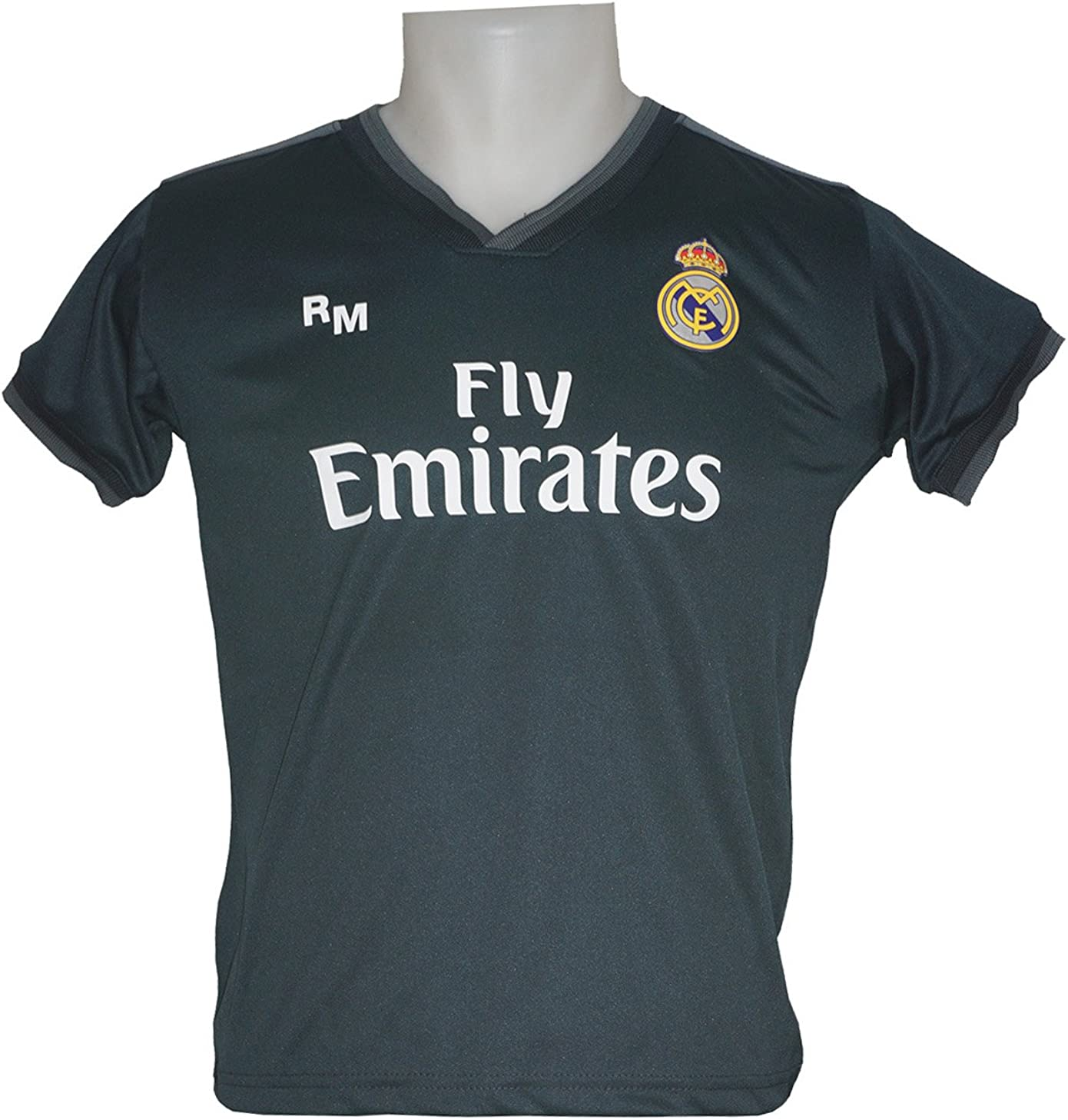 Real Madrid FC Camiseta Infantil Réplica Segunda Equipación ...