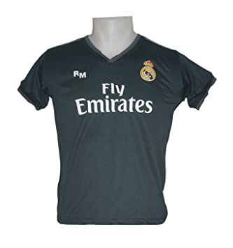 Real Madrid FC Camiseta Infantil Réplica Segunda Equipación 2018/2019: Amazon.es: Deportes y aire libre