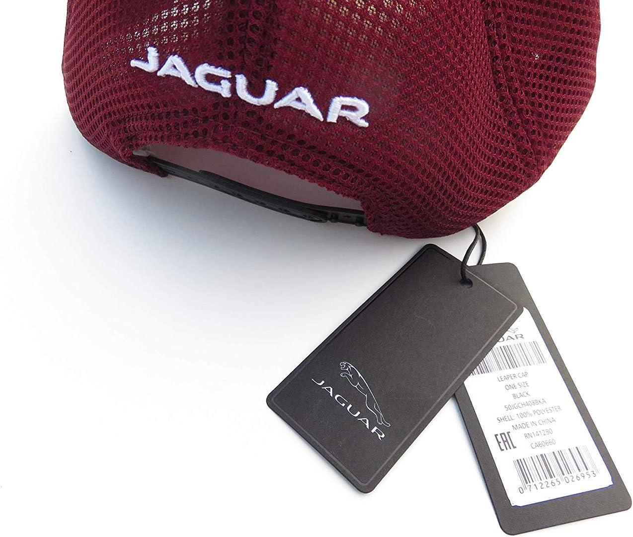 Jaguar New Genuine Leaper Logo Mesh Back Baseball Cap Hat 50JGCH408BKA