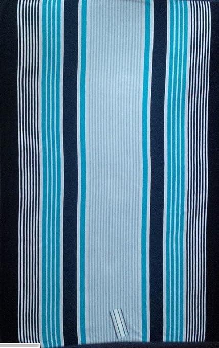 DN Dunnes 100% algodón Egipcio Toalla de Playa Toallas de baño Azul Multi Tono Rayas