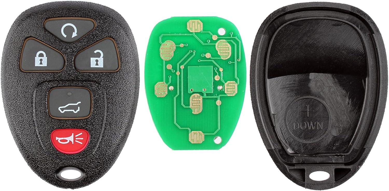 KeylessOption Keyless Entry Remote Control Car Key Fob Replacement for 15913415