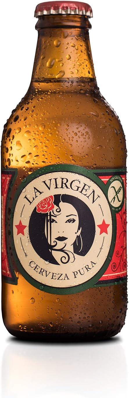 La Virgen (24 botellines de 25 cl) (cerveza artesana madrileña)
