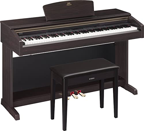Yamaha Arius YDP-181 Traditional Console Style Digital Piano with Bench, Rosewood