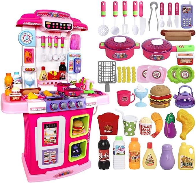 Xyanzi Juguetes para Bebés Juego de Cocina para niños pequeños ...